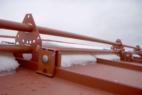 orima снегозадержатель на фальц