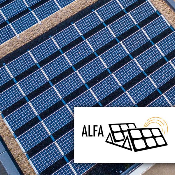 Alfa aurinkopaneelien asennusteline tasakatoille