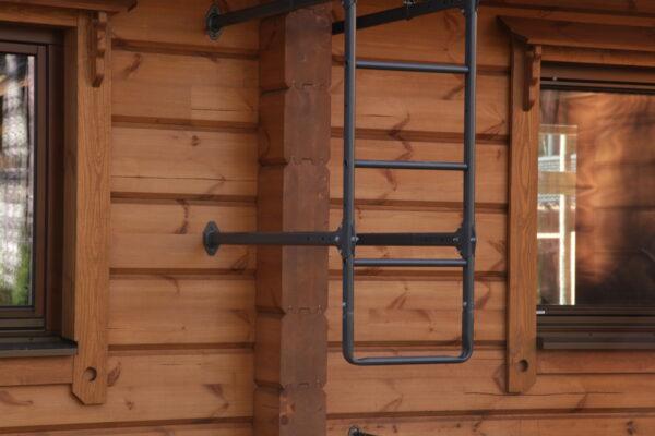 пристенная лестница orima нижняя дуга